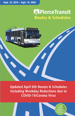 April 6 Revised Route and Schedule book