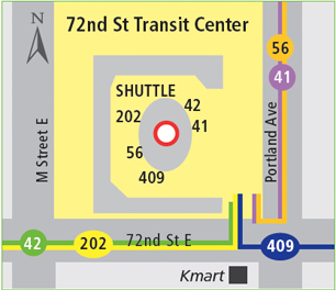 72nd St Transit Center