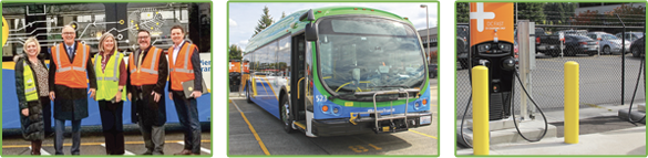 Pierce Transit electric fleet