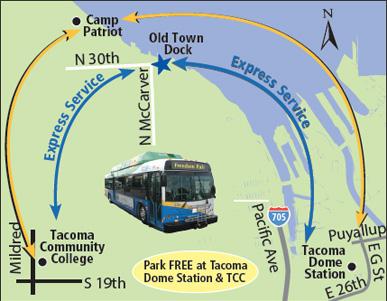 Freedom Fair Express Pierce Transit