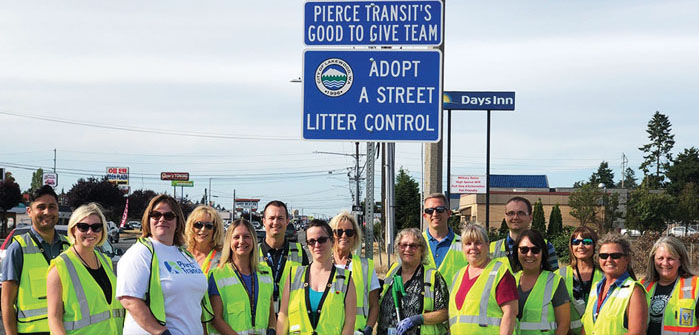 Pierce Transit's Good to Give Team