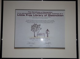 Little Free Library Award of Distinction