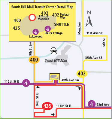 South Hill Mall Transit Center