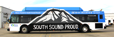 South Sound Proud Bus