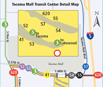 Tacoma Mall Transit Center