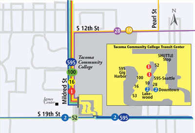 Tacoma Community College Transit Center