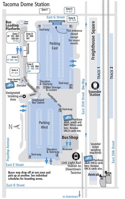 Transit Centers Pierce Transit