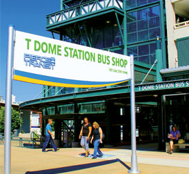 Tacoma Dome Station Bus Shop