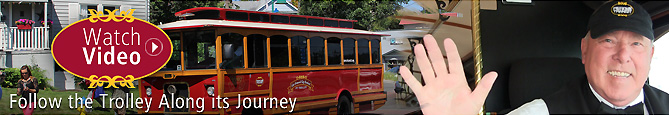 Watch Video of Pierce Transit Trolley