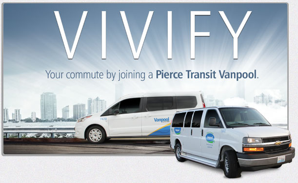 Vivify Vanpool Rewards