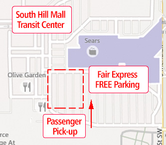 south hill mall fair express