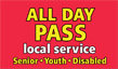 Senior/Youth/Disabled All Day Pass